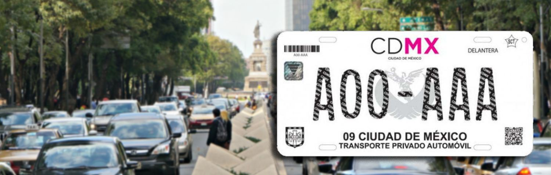d610e1034 Trámite de placas en la CMDX, conoce cómo hacerlo