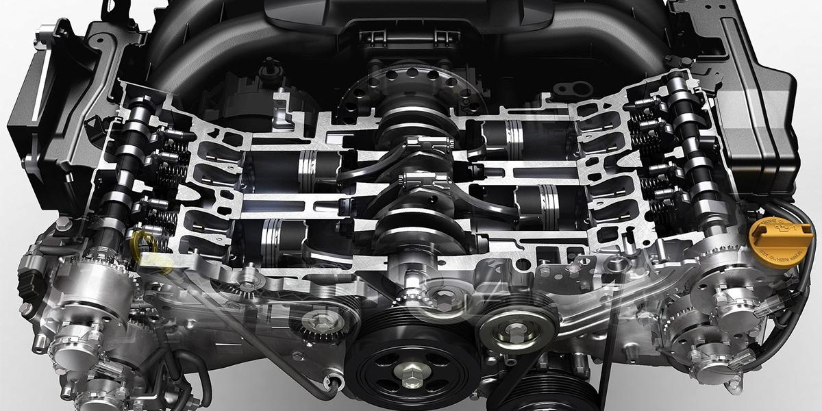 What Is Ecoboost >> Clasificación de motores por disposición de sus cilindros