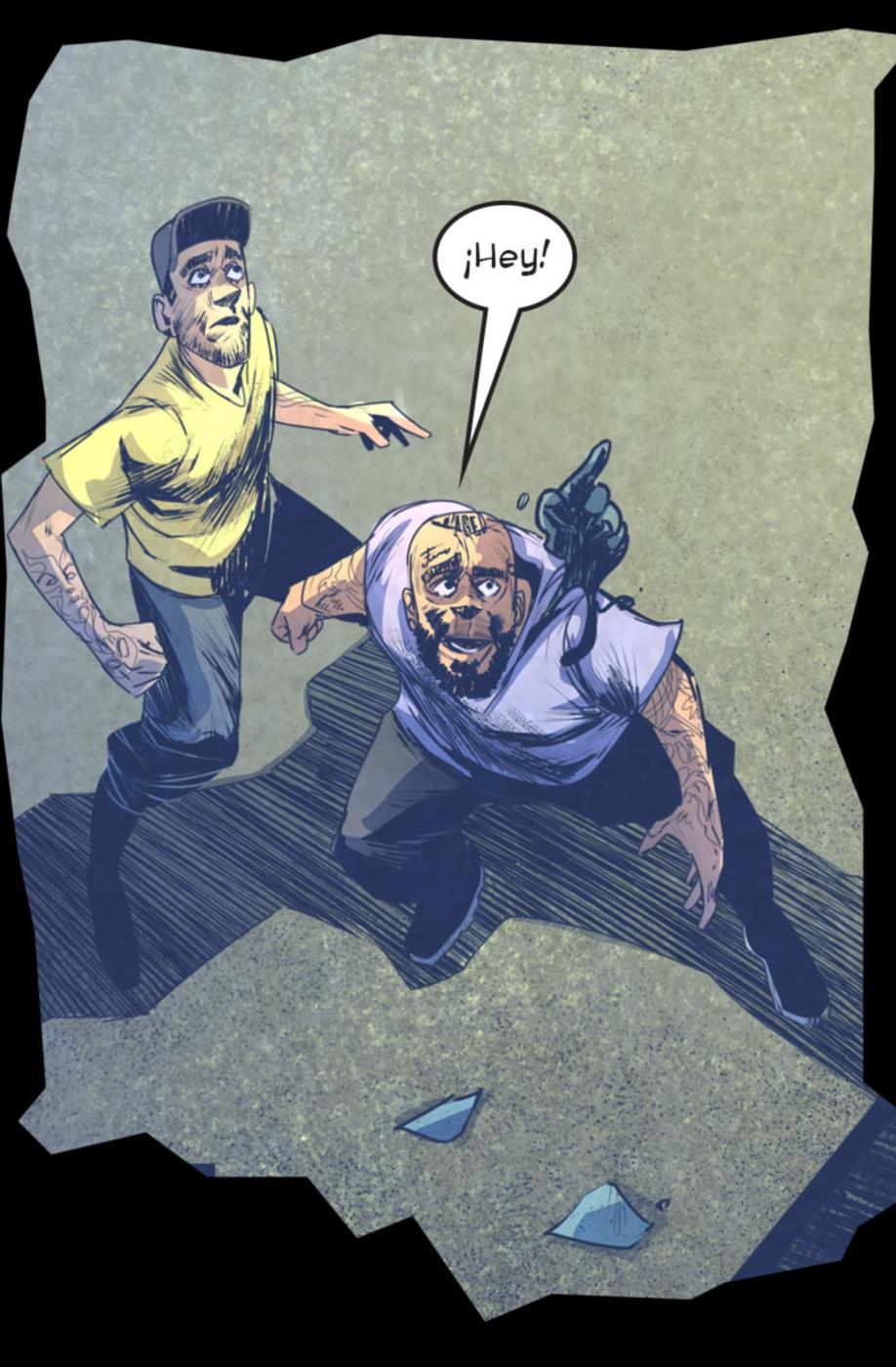 Los Hombres Pintados: Qué Monstruos Son #1.10