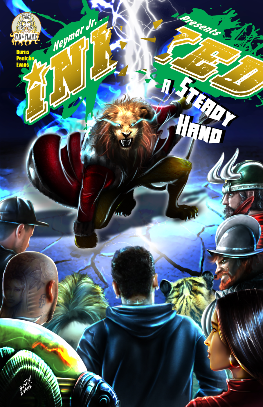 Inked: A Steady Hand #1.1