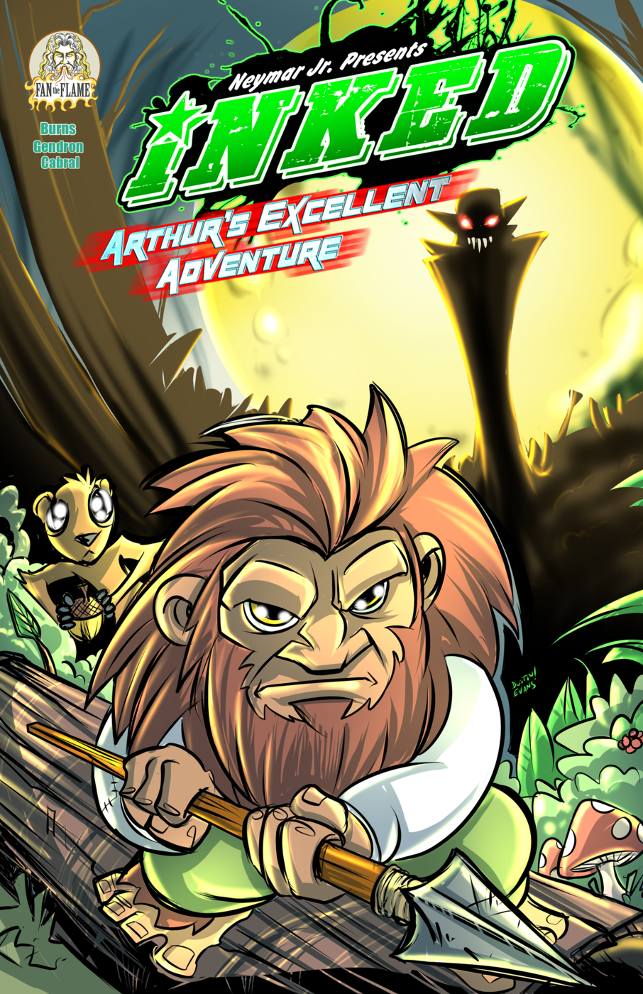 Inked: Arthur's Excellent Adventure #1.1