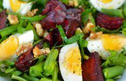 Egg Beetroot Rocket Salad Fertility Food Revolution