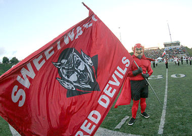 Sweet Water Red Devils mascot