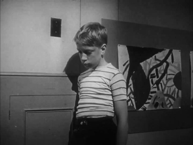 Angry boy 1950 image normal