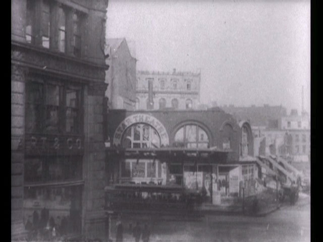 T1 demolishing and building up the star theatre 1901 image normal