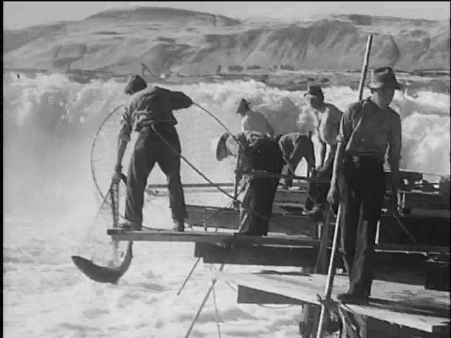 Vanishing redmen net vanishing salmon 1938 image normal
