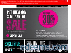 Sunglass hut coupons in store uk