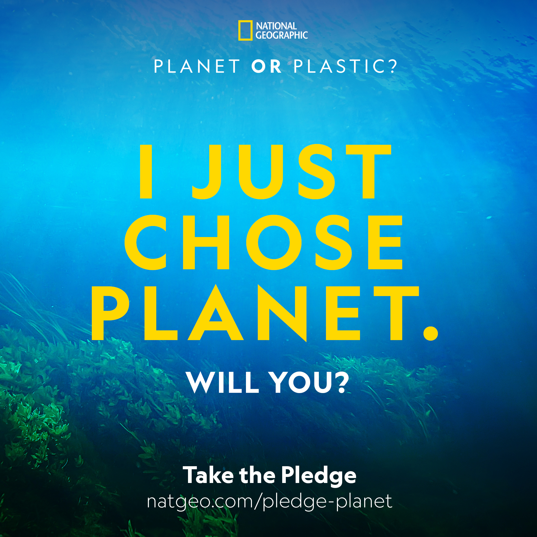 I just chose Planet. Will you?