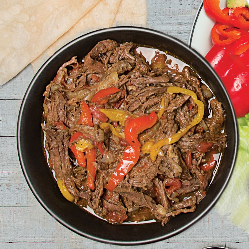 Easy slow cooker brazilian braised beef recipe natural grocers featured forumfinder Images