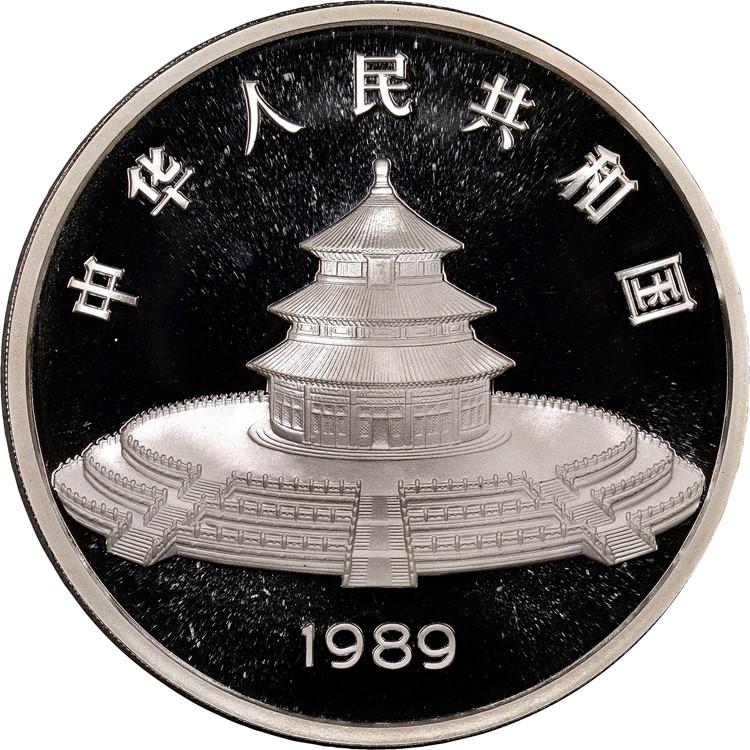 1989 5oz 50 Yuan Pf Silver Panda Value Ngc