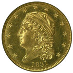 Capped Bust $2.50 - Capped Bust Quarter Eagle