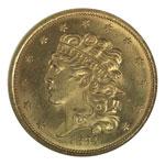 Classic Head $5 - Classic Head Half Eagle - Classic Head Five Dollar