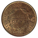 Classic Head Half Cents