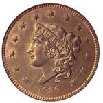 Coronet Head Cents