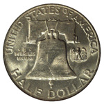 Franklin Half Dollars - Franklin Halves - Franklin 50C
