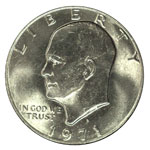 Ike Dollars - Eisenhower Dollar - Eisenhower $1