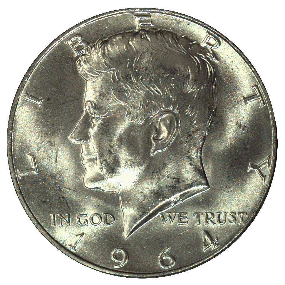 1971 50C Kennedy Half Dollar Gem BU