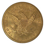 Liberty Head $10 - Ten Dollar Liberty - Liberty Eagle - Ten Dollar Lib