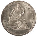 Liberty Seated Dollars - Seated Liberty Dollar