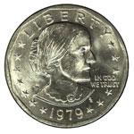 Susan B. Anthony Dollars - SBA Dollar - SBA $1