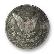 1891 Silver Dollar