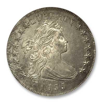 NGC -Eliasberg 1795 Silver Dollar Obv