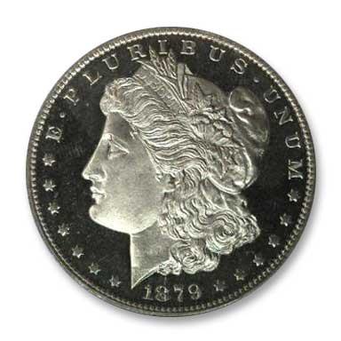 NGC - Jack Lee 1879 Dollar Obv