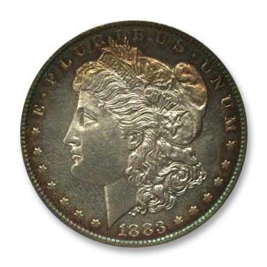 NGC - Jack Lee 1883 Dollar Obv
