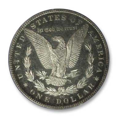 NGC - Jack Lee 1884 Dollar Rev