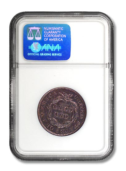 NGC - King of Siam One Cent Rev
