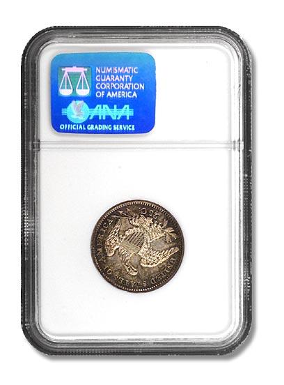 NGC - King of Siam Quarter Dollar Rev