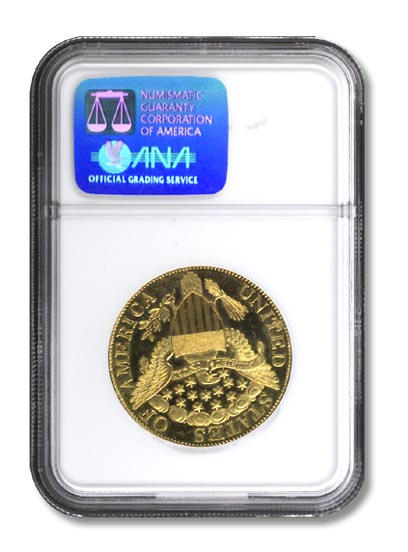 NGC - King of Siam Golden Eagle Piece Rev
