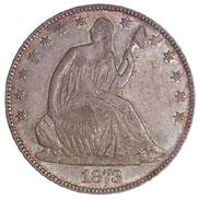 1873 OP 3 NO ARROWS 50C