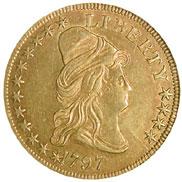 1797 SMALL EAGLE $10