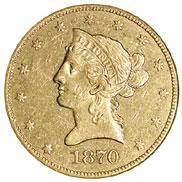 1870 CC $10