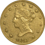 SS Republic Coin - 1838 Coronet Eagle