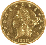 SS Republic Coin - 1858-O Double Eagle