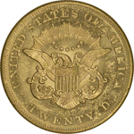 SS Republic Coin - 1857-O Coronet Double Eagle