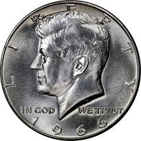 Kennedy Half Dollar obverse