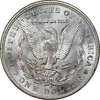 Morgan Dollar reverse