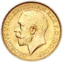 South Africa Gold Sovereign obverse