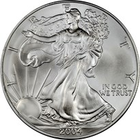 American Silver Eagle $1 obverse