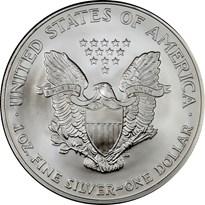 American Silver Eagle $1 reverse