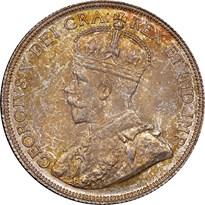 Canada Silver Half Dollar obverse