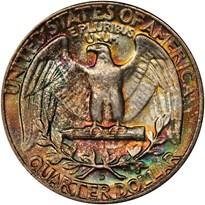 Washington Quarter reverse