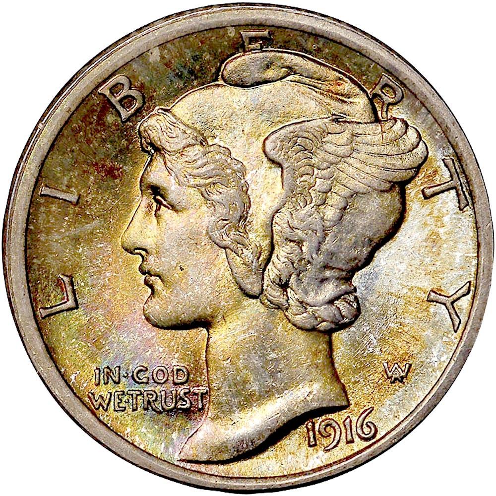 1939-D or 1940-D or 1941-D US Mercury silver Dimes Price per Each Coin