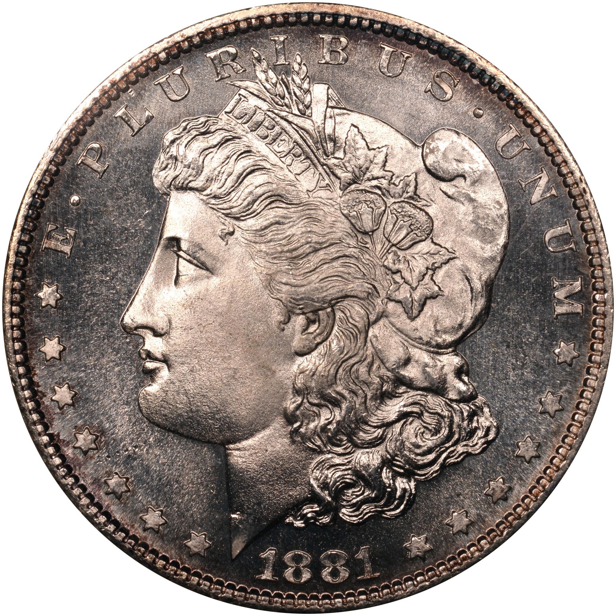 Coin Chart: 1878-1921 Morgan Dollars