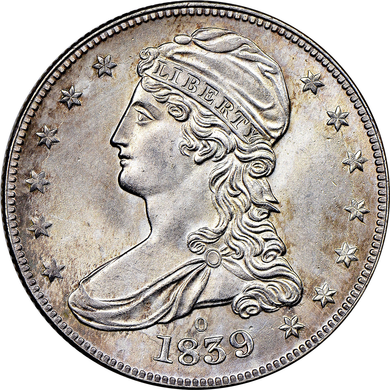 1836 1839 Capped Bust Reeded Edge Half Dollars Ngc