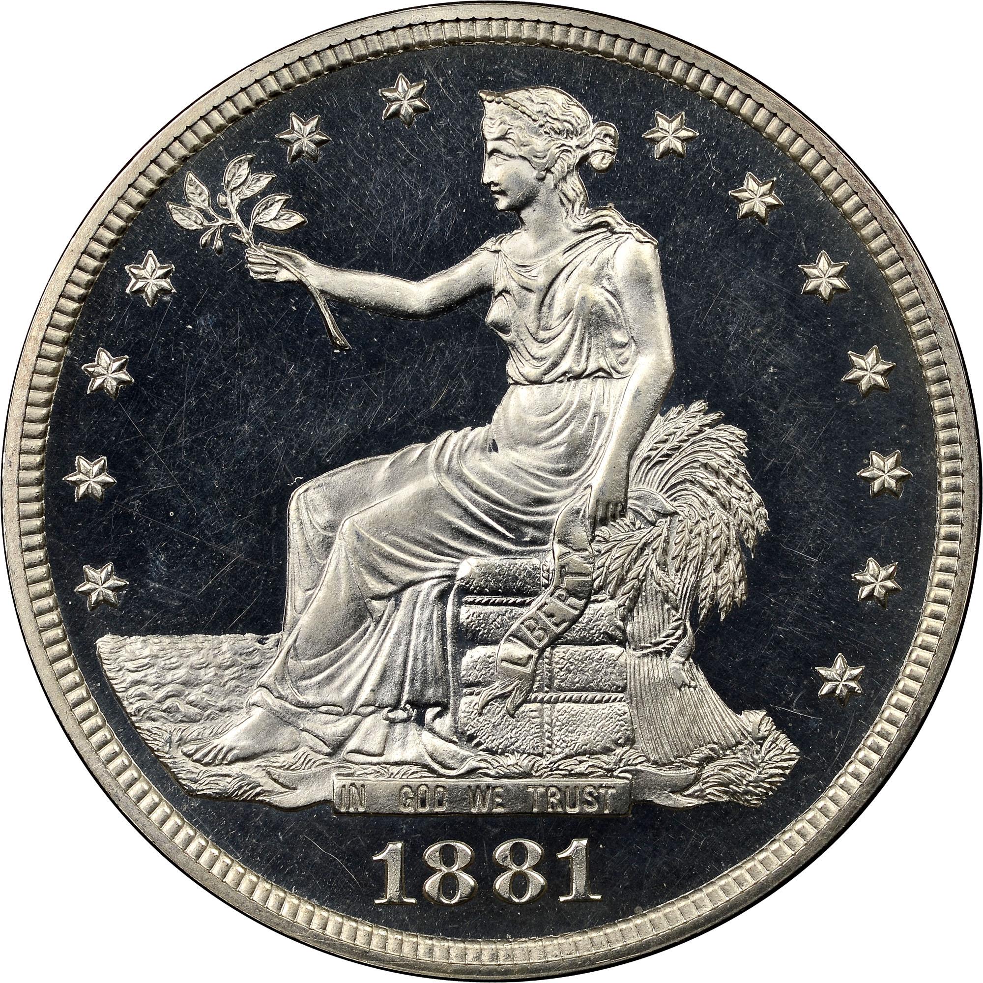 1873-1885 Trade Dollars   NGC