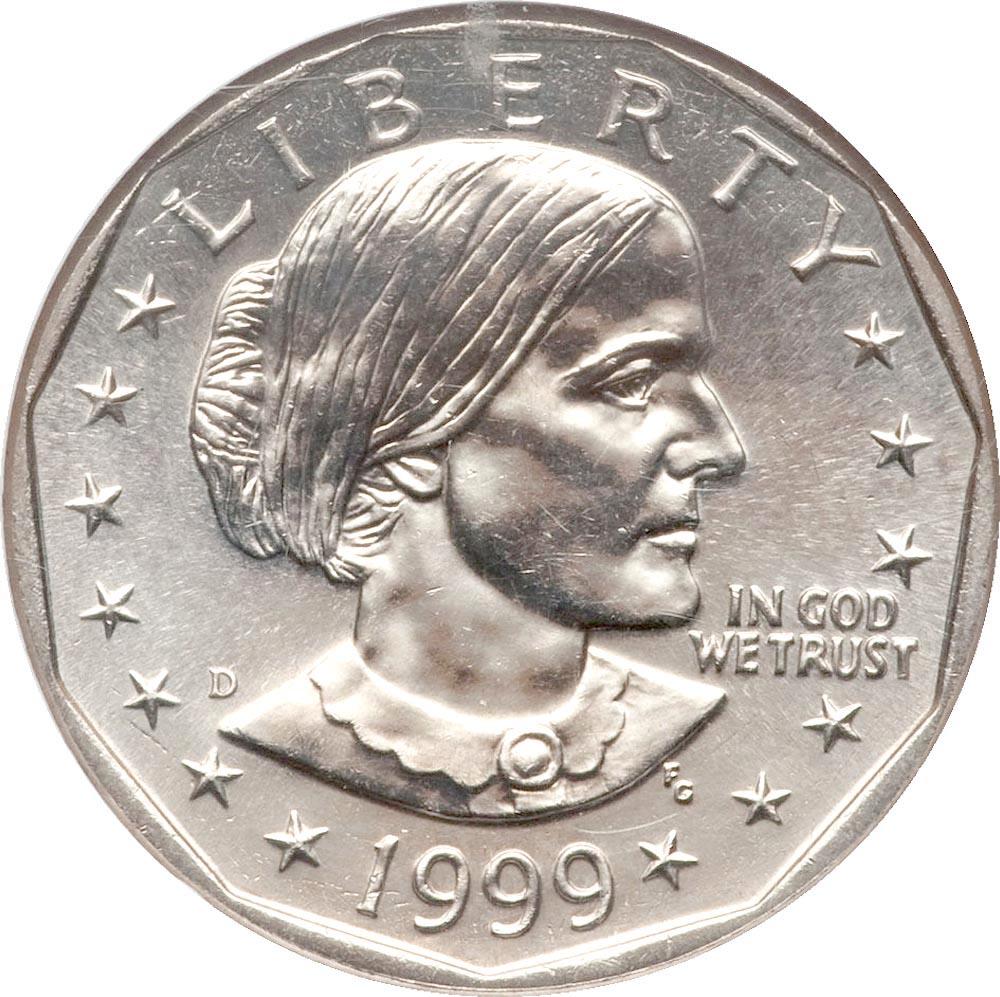 1979 1999 Anthony Dollars Ngc